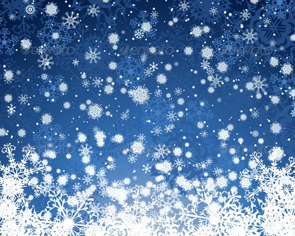 GraphicRiver Winter Background 3391288