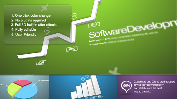 VideoHive Corporate Chart Presentation 3391398
