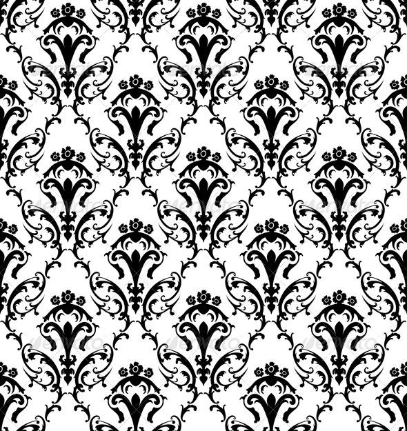 GraphicRiver Damask Seamless Pattern 3391408