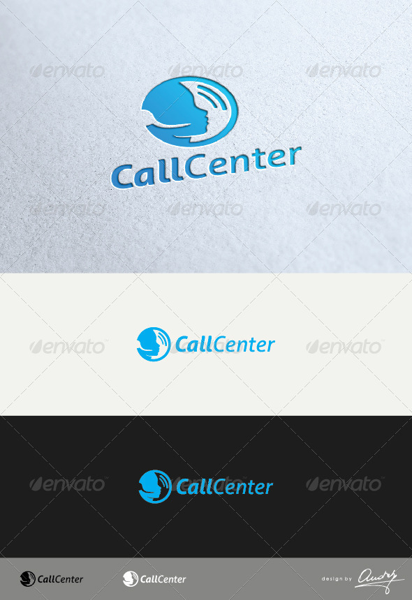 GraphicRiver Call Center Logo Template 3392055