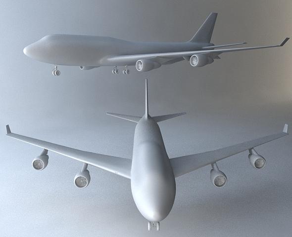 3DOcean boeing 747 Airplane 3392618