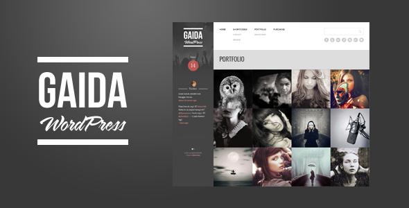 Gaida - Responsive Portfolio WordPress Theme - Portfolio Creative