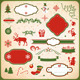 Collection of Christmas and New Year decoration el - GraphicRiver Item for Sale