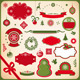 Collection of Christmas and New Year decoration - GraphicRiver Item for Sale