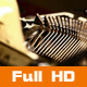 Old Typewriter  - VideoHive Item for Sale