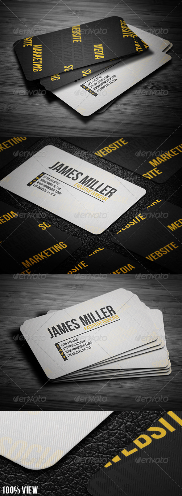 Keywords Business Card - Creative Business Cards