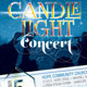 Candle Light Concert Flyer Templates - GraphicRiver Item for Sale