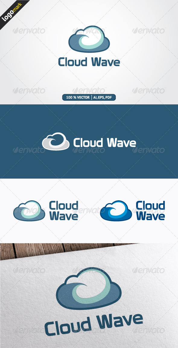 GraphicRiver Cloud Wave 3372930