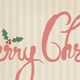 Christmas & New Year Minimal Brush Calligraphy - GraphicRiver Item for Sale