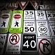 79 Low Poly Road Signs USA (Mega Pack)