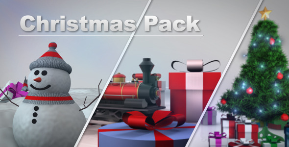 After Effects Project - VideoHive Christmas Pack 3394548