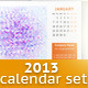 2013 Calendar Set - GraphicRiver Item for Sale