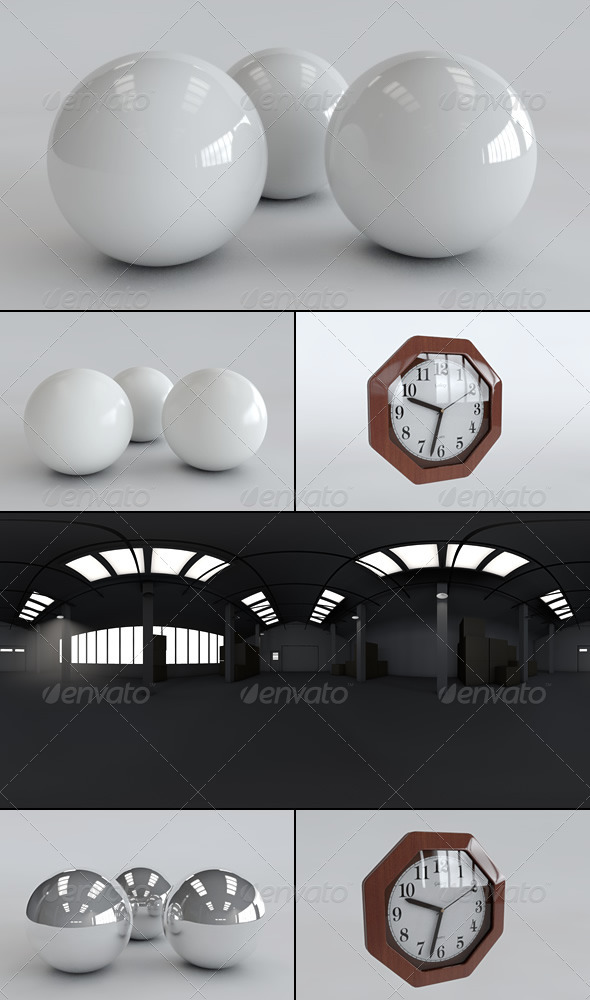 HDRi Light Room 2 - 3DOcean Item for Sale