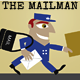 The Mailman or Postman Delivering the Letters - GraphicRiver Item for Sale