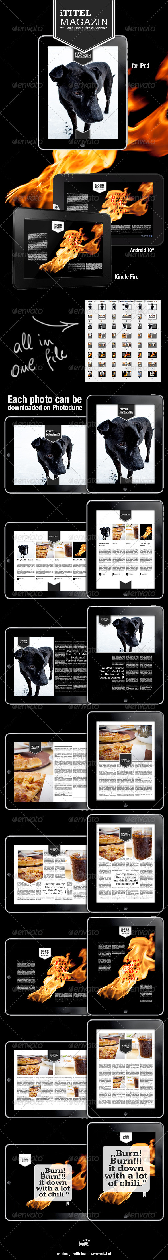 GraphicRiver Tablet Magazine Template 3395200