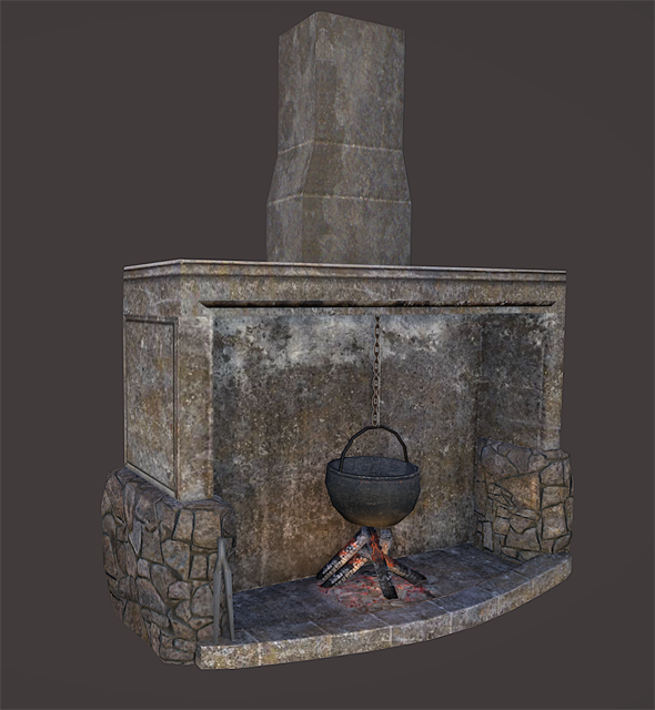 3DOcean Chimney 3396657