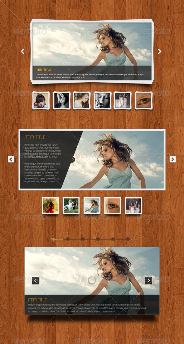 Clean Sliders - Sliders & Features Web Elements
