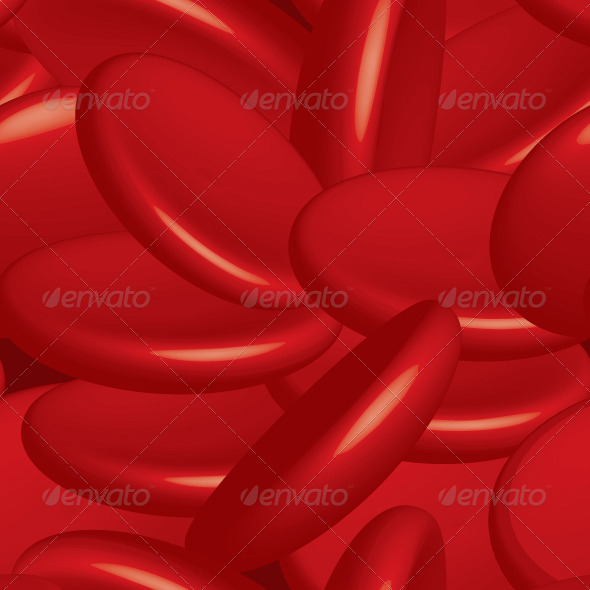 GraphicRiver Blood Cells Seamless 3396988