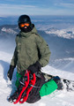 Backcountry freerider with the snowshoes - PhotoDune Item for Sale
