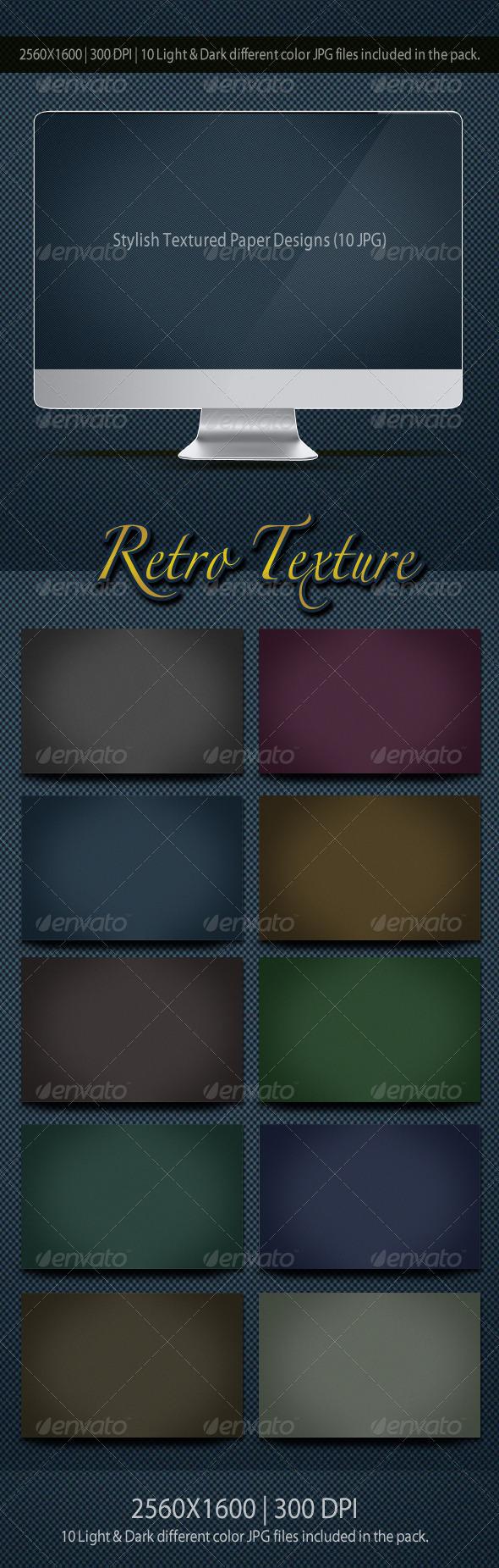 GraphicRiver Retro Texture Paper 3377898