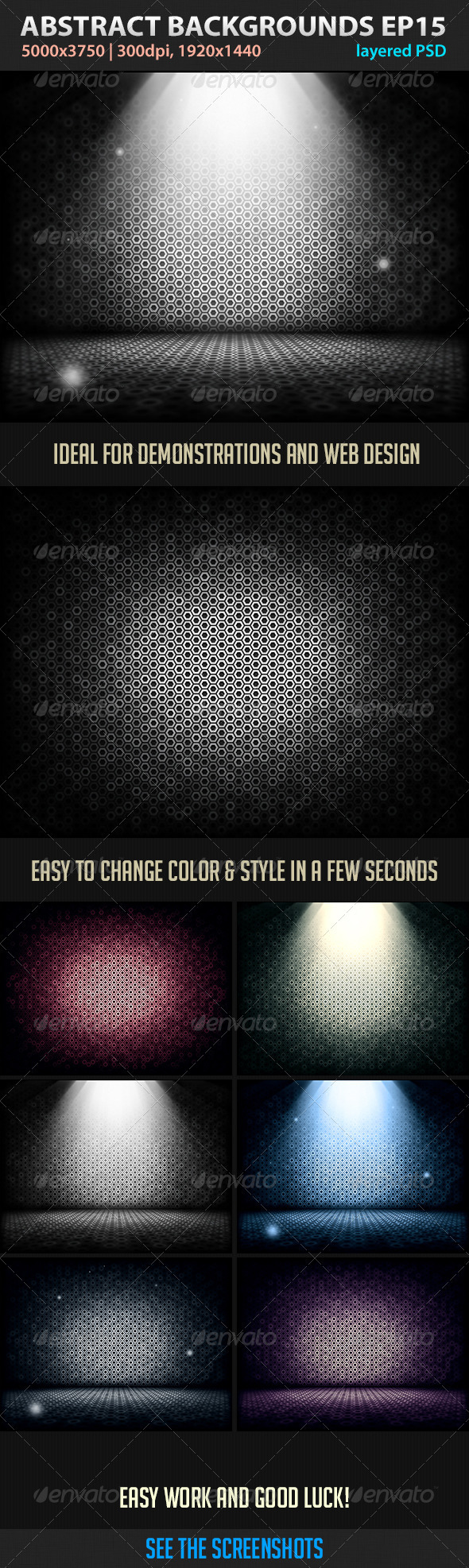 GraphicRiver Abstract Backgrounds Episode 15 3399141