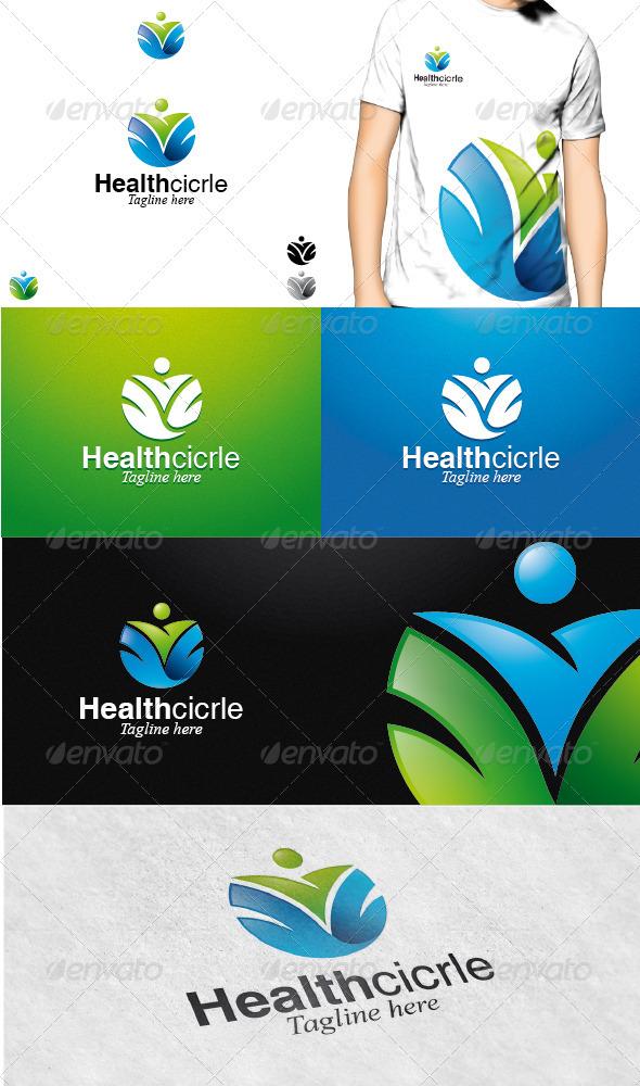 GraphicRiver Health Circle Logo 3286181