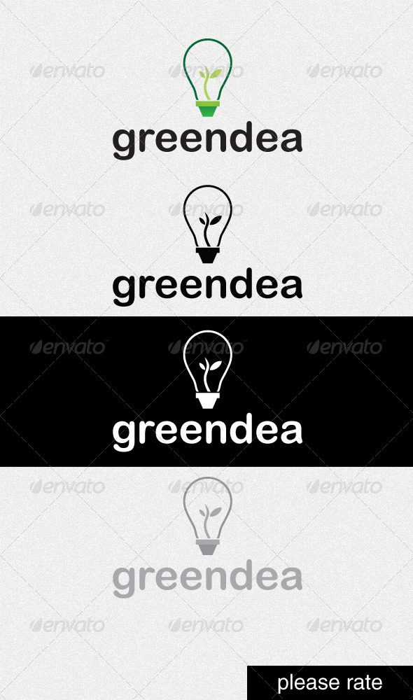 Greendea - Nature Logo Templates