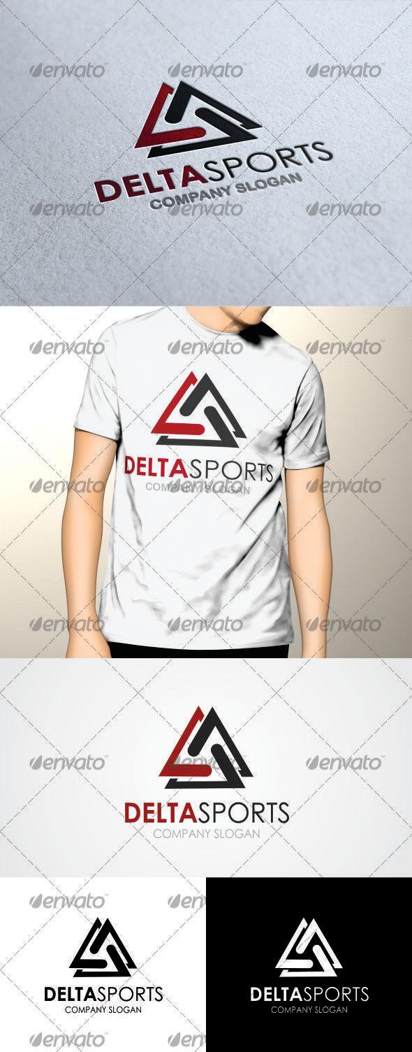 GraphicRiver Delta Sports Logo 3400119