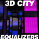3D City Equalizers 3-Pack HD Animations - VideoHive Item for Sale