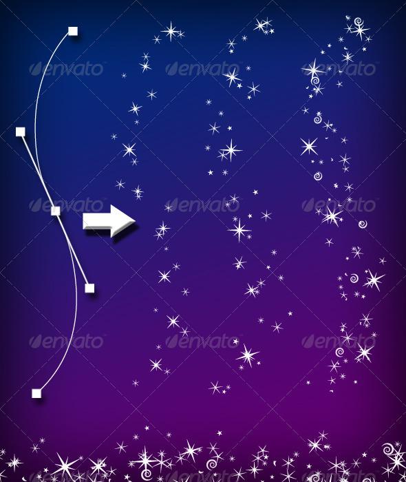 GraphicRiver Magic Sparkle Layered Brush Set 3400185