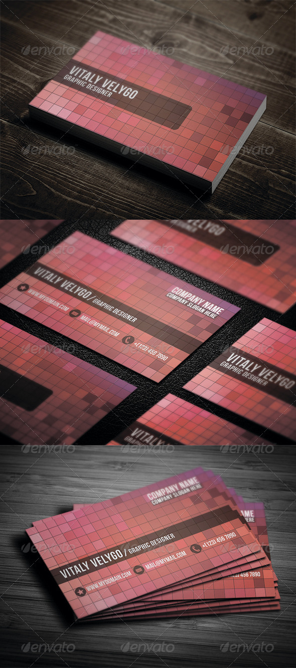 GraphicRiver Creative Business Card N2 3400443