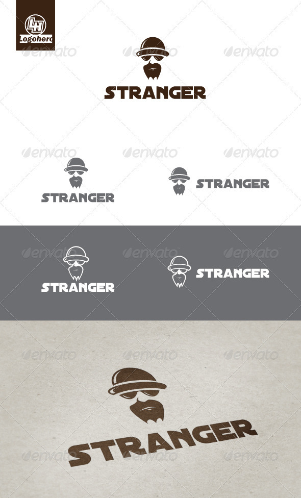 Stranger Logo Template - Humans Logo Templates