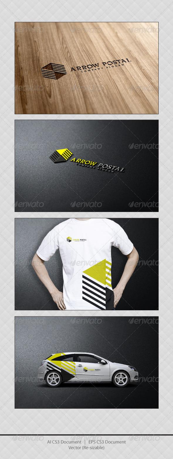 GraphicRiver Arrow Postal Logo Templates 3400588
