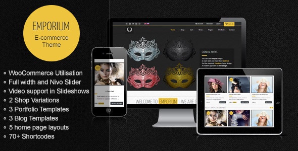 ThemeForest Emporium Responsive WordPress WooCommerce Theme 3400657