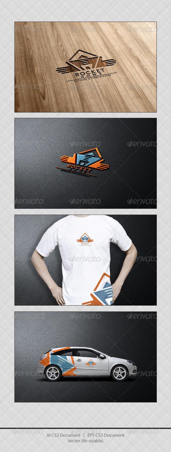 GraphicRiver ROCKET Home Logo Templates 3400661