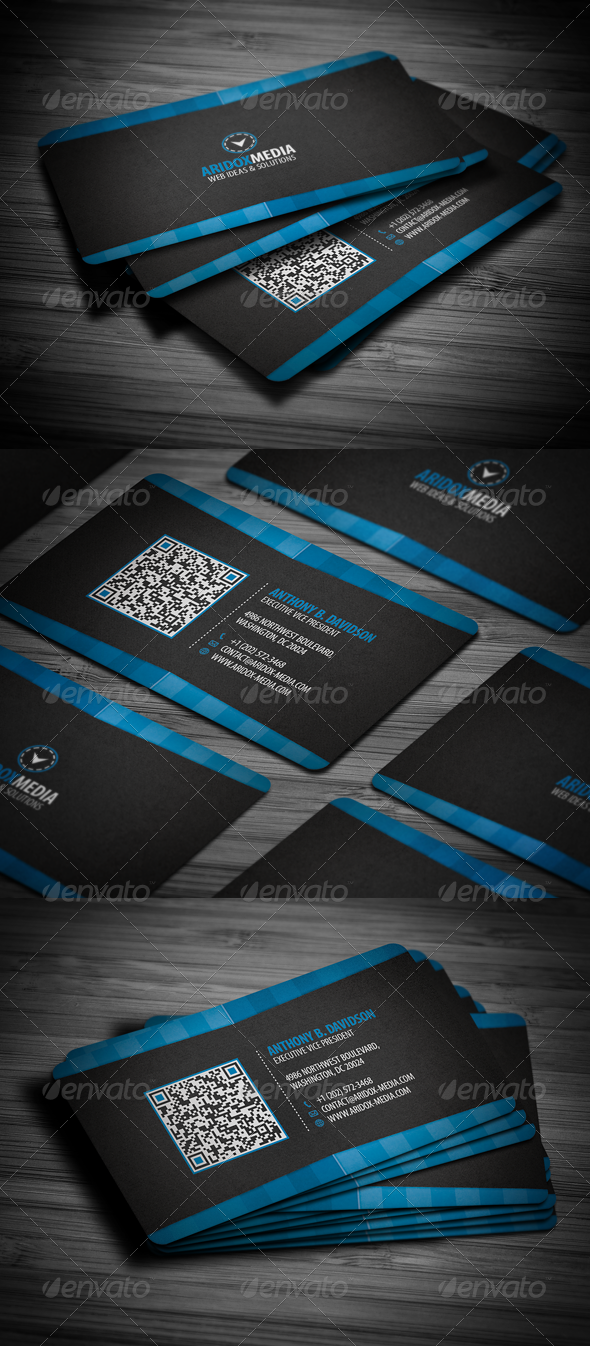 GraphicRiver Professional Corporate Business Card 2203381