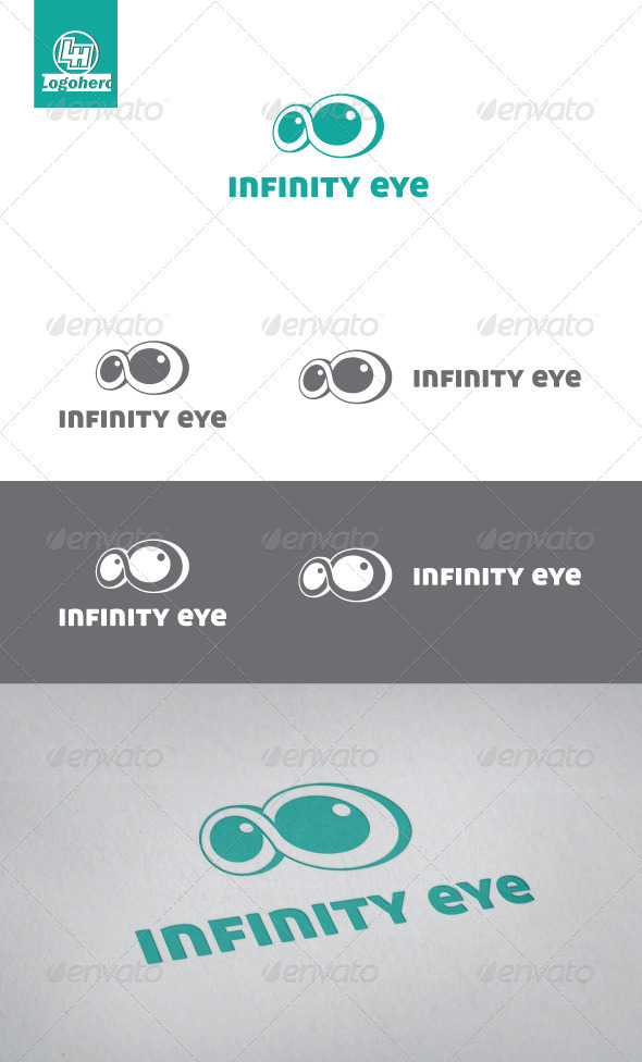 GraphicRiver Infinity Eye Logo Template 3400846