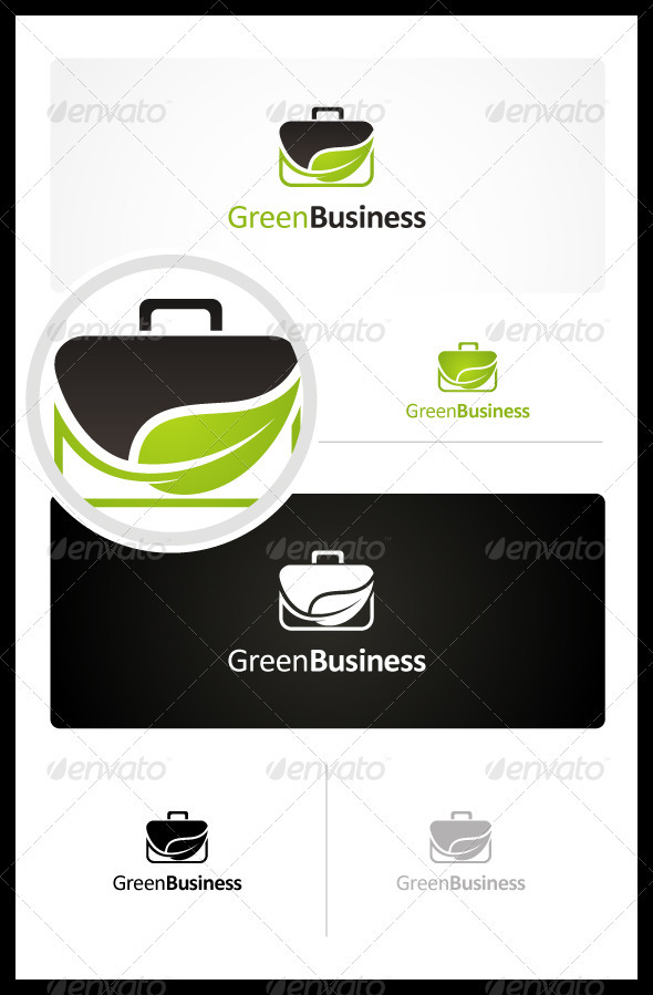 GraphicRiver Green Business 3400916
