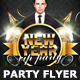 New Years Eve Vip Party Flyer Template - GraphicRiver Item for Sale