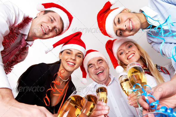 Christmas party - Stock Photo - Images