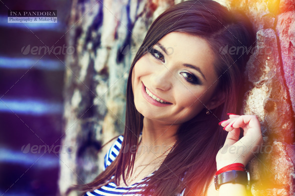Red hair beauty - Stock Photo - Images