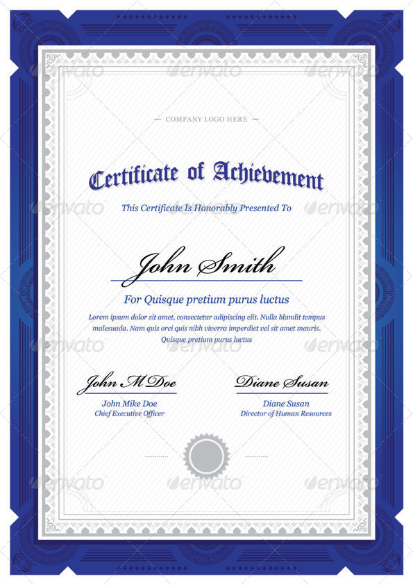 Modern Classy diploma award Certificate by bnrcreativelab ...