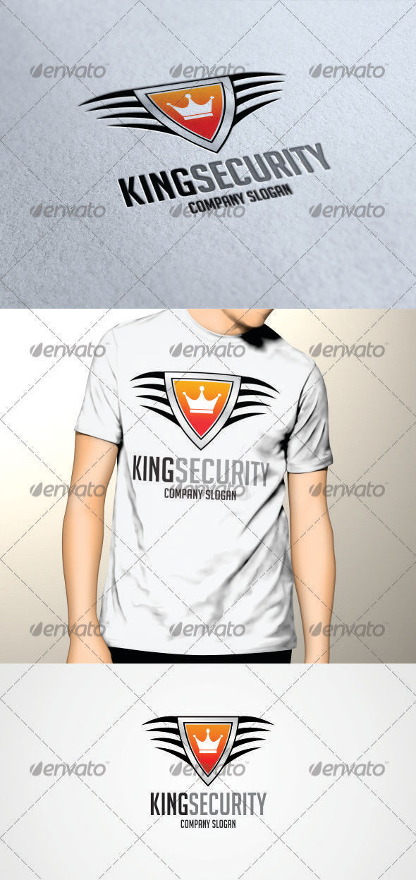 GraphicRiver King Security Logo 3331317