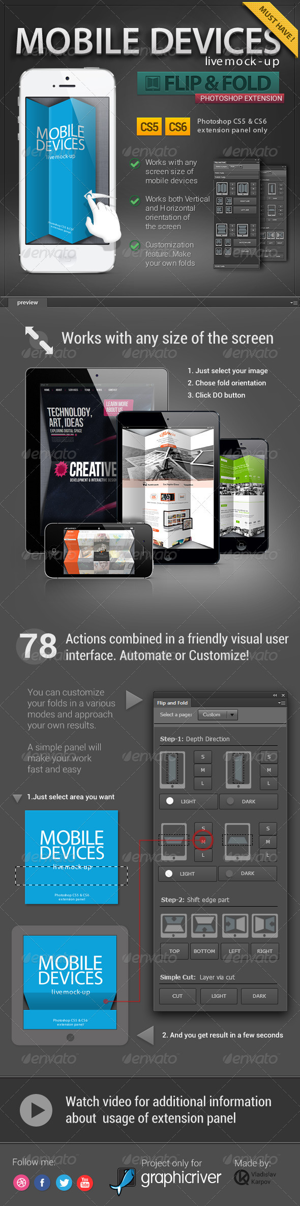 GraphicRiver Flip & Fold 3403668