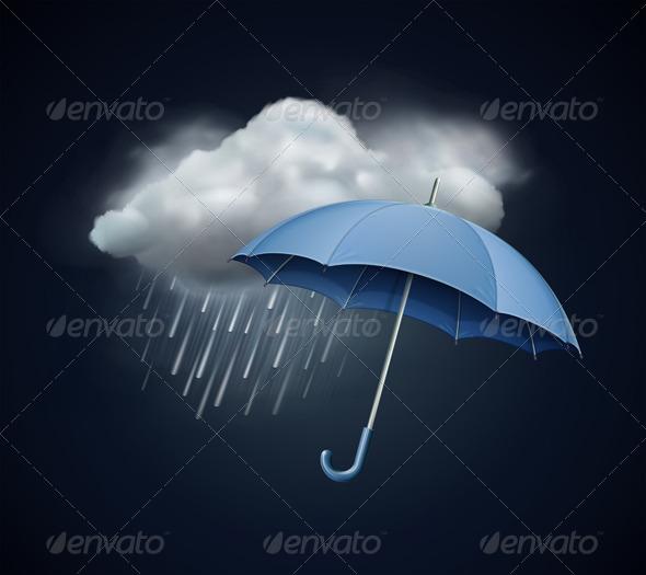 GraphicRiver Heavy Fall Rain 3403831