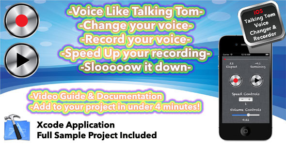 CodeCanyon Voice Change Like Talking Tom 3405495