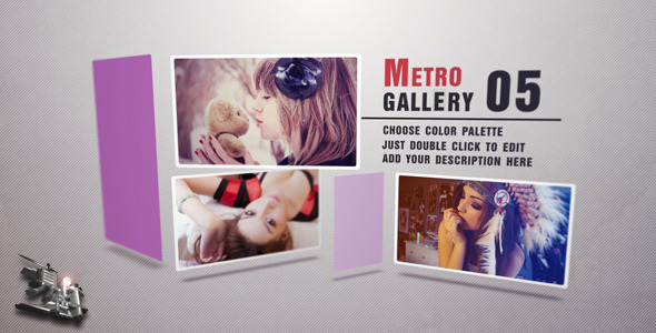 After Effects Project - VideoHive Metro Gallery 3372388