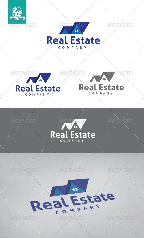 GraphicRiver Real Estate Logo Template 3406101