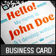 Creative Developer Business Cards - GraphicRiver Item for Sale