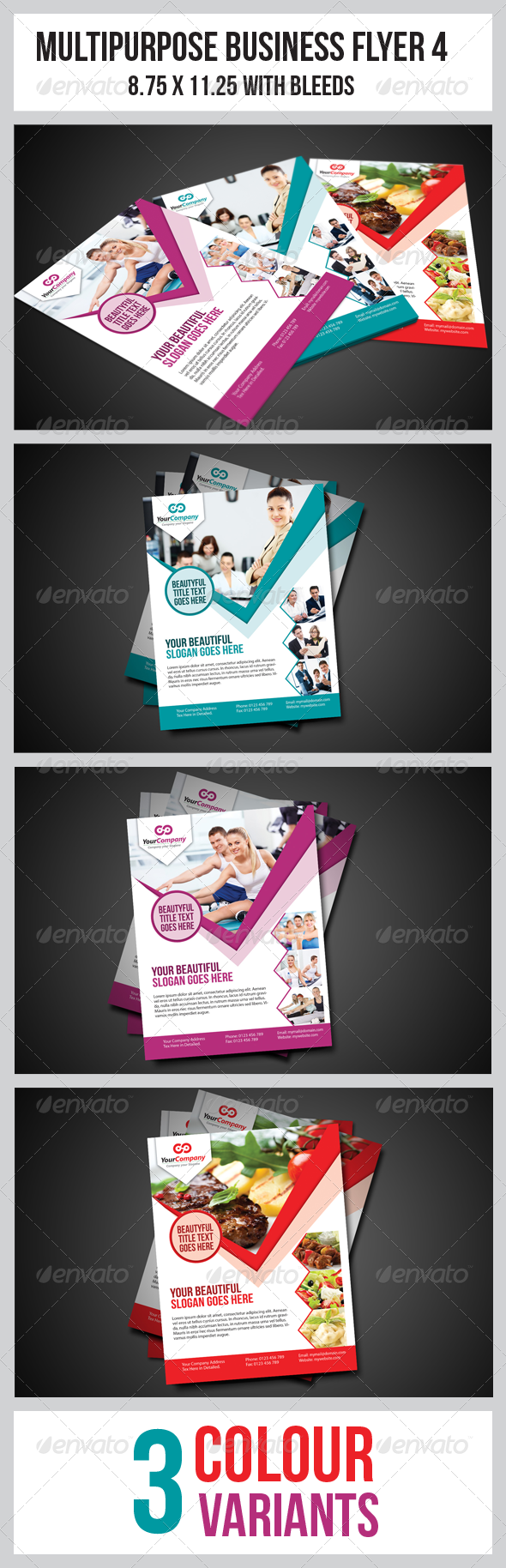 GraphicRiver Multipurpose Business Flyer 4 3406799